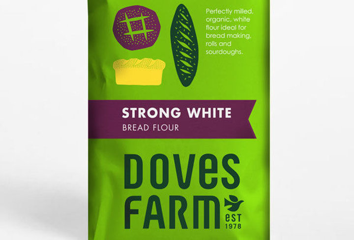 Organic strong white bread flour