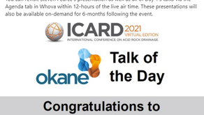 Talk of the day at ICARD 2021