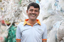 2020_Lucro-Waste Collector head smiling