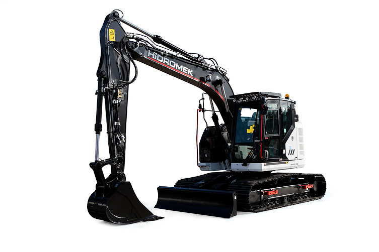Power: 78.5 kW - 105 HP @ 2000 rpm Bucket Digging Force: 10000 kgf Bucket Capacity: 0.6 m³ Operating Weight: 16850 kg