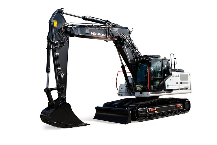 Power: 128 kW - 172 HP @ 2000 rpm Bucket Digging Force: 15,900 kgf Bucket Capacity: 1.10 m³ Operating Weight: 23200 kg