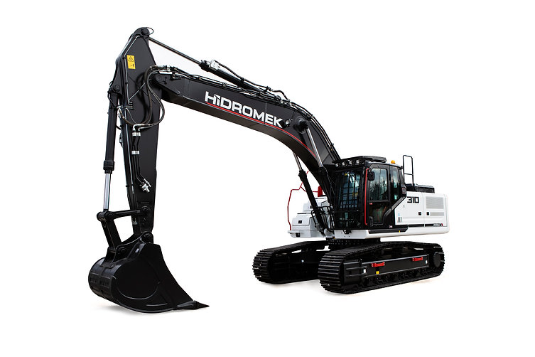Power: 161 kW - 216 HP Bucket Digging Force: 21500 kgf Bucket Capacity: 1.6 m³ Operating Weight: 31900 kg