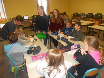 Échange 2nde – CE2/CM1 de l'école Saint-Jean-Baptiste