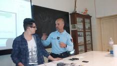 Des gendarmes font de la prévention au Lycée Saint-Gabriel