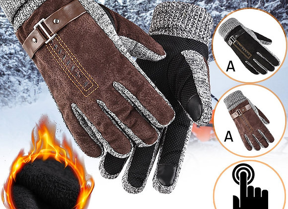 New Fashion Men Driving Warm Gloves/ Windproof Gloves