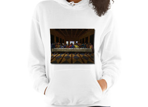 UNISEX CUSTOM PRINT PULLOVER THE LAST SUPPER
