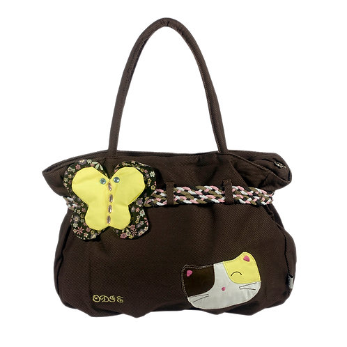 Cat Loves Butterfly Bag