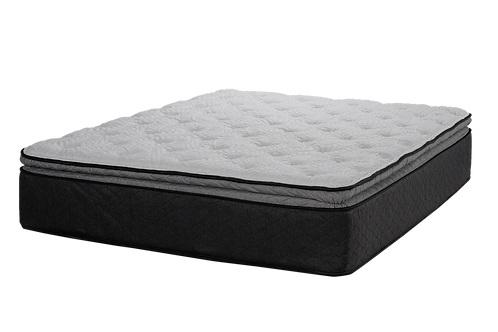 "Tiffany CA King13.5"" Plush Pillowtop Hybrid Mattress"