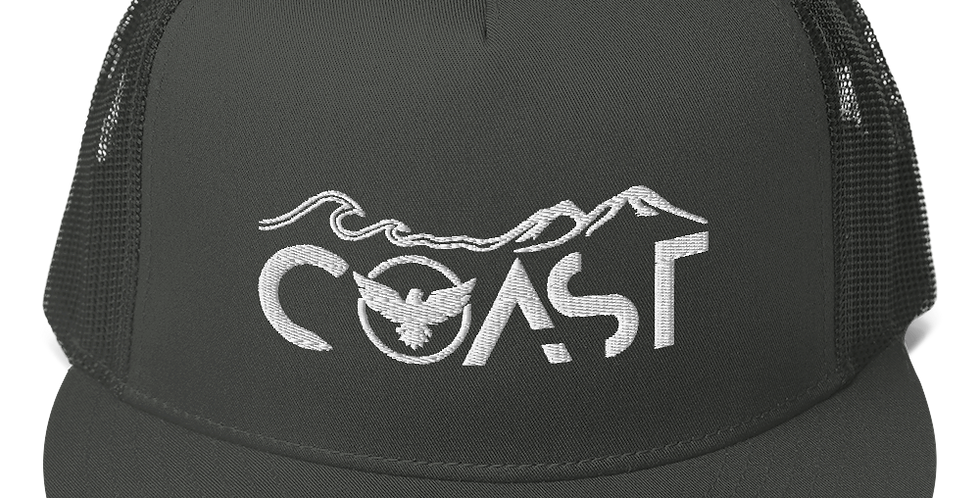 FYC Mountains to Coast Mesh Back Dark Grey Adjustable Snapback