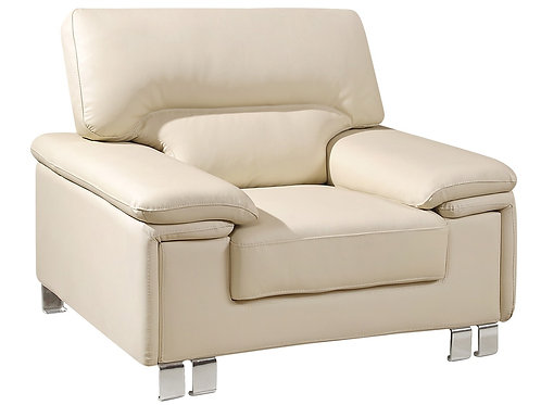 "47"" X 36"" X 36"" Beige  Chair"