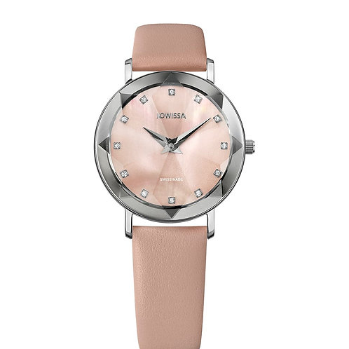 Jowissa Facet Swiss Ladies Watch J5.605.M
