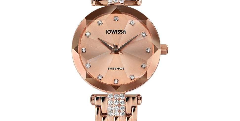Facet Strass Swiss Ladies Watch J5.634.S