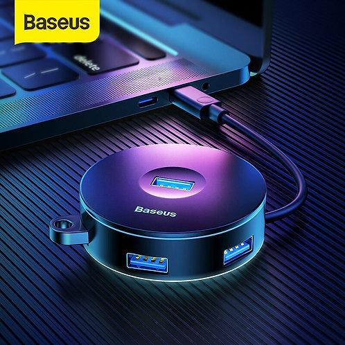 Baseus HUB 3.0 USB for MacBook Pro Surface Micro USB for Computer USB Splitter