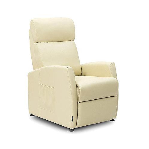 Cecotec 6181 Relaxing Reclining Compact Beige Massage Armchair.