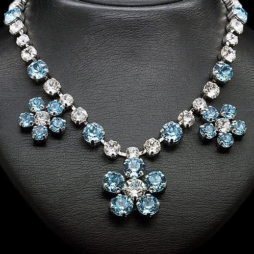 "Necklace ""Magic Flower"" with Swarovski™ crystals"