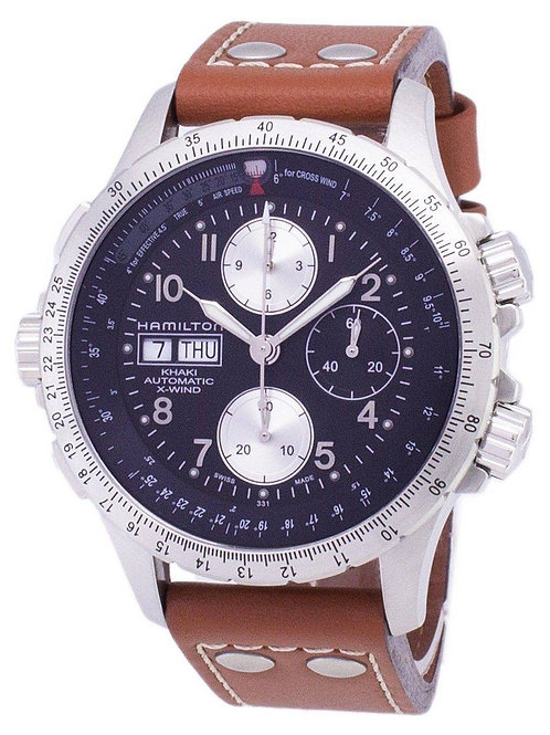 Hamilton Khaki X-Wind Automatic Chronograph H77616533 Men's Watch