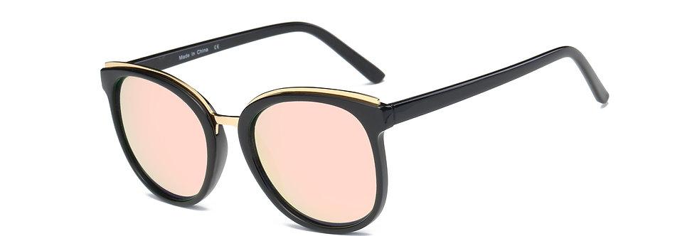 ANGELES | S1004 - Women Round Cat Eye Fashion Sunglasses Circle