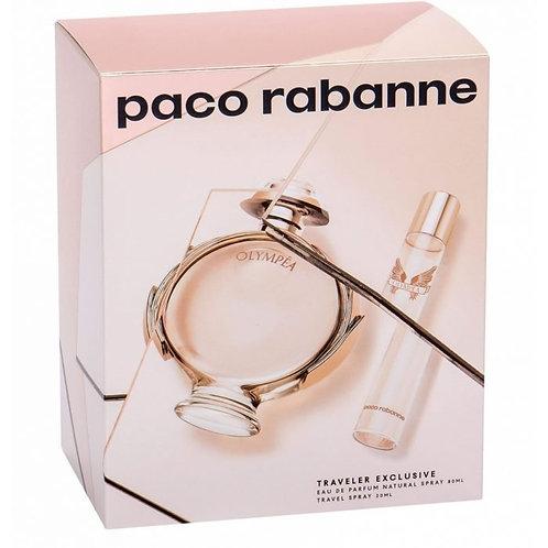 Paco Rabanne Olympéa Eau De Perfume Spray 80ml Set 2 Pieces 2020