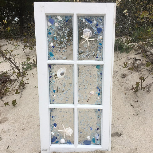 6-pane vintage Cape Cod Window