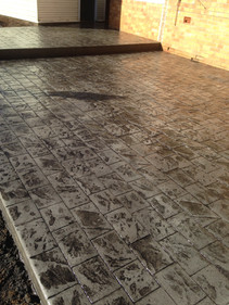 After: Stamp Concrete