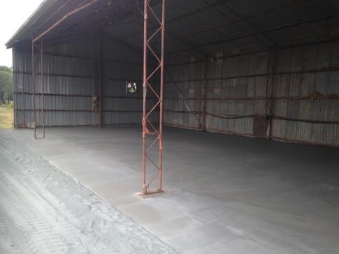 Shed Concrete