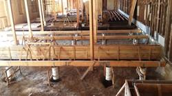 Building restoration, concrete