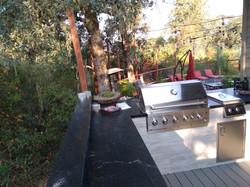 Outdoor Kitchen, BBQ, Tile