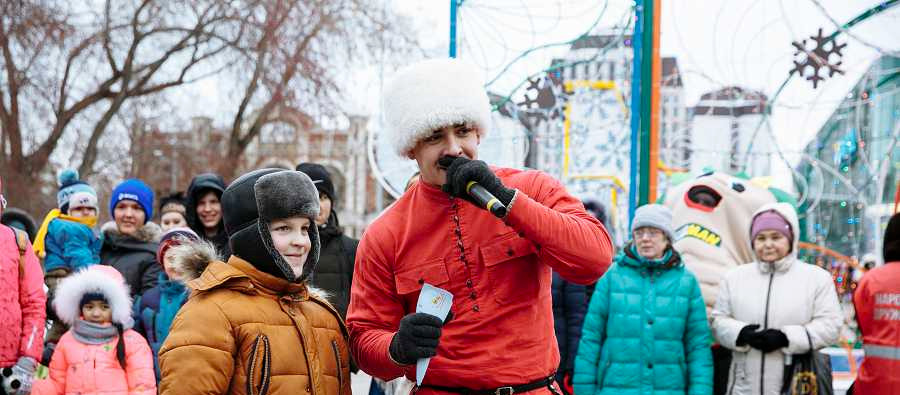 Галамарт_Открытие ледового городка_2017