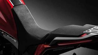 Snížené sedlo pro motocykl Moto Morini X-cape