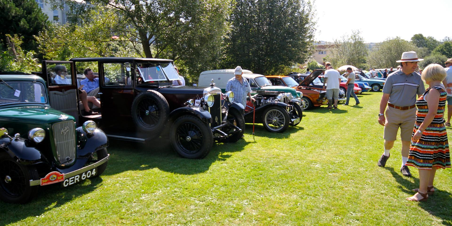 Aveton Gifford Car Show 2019