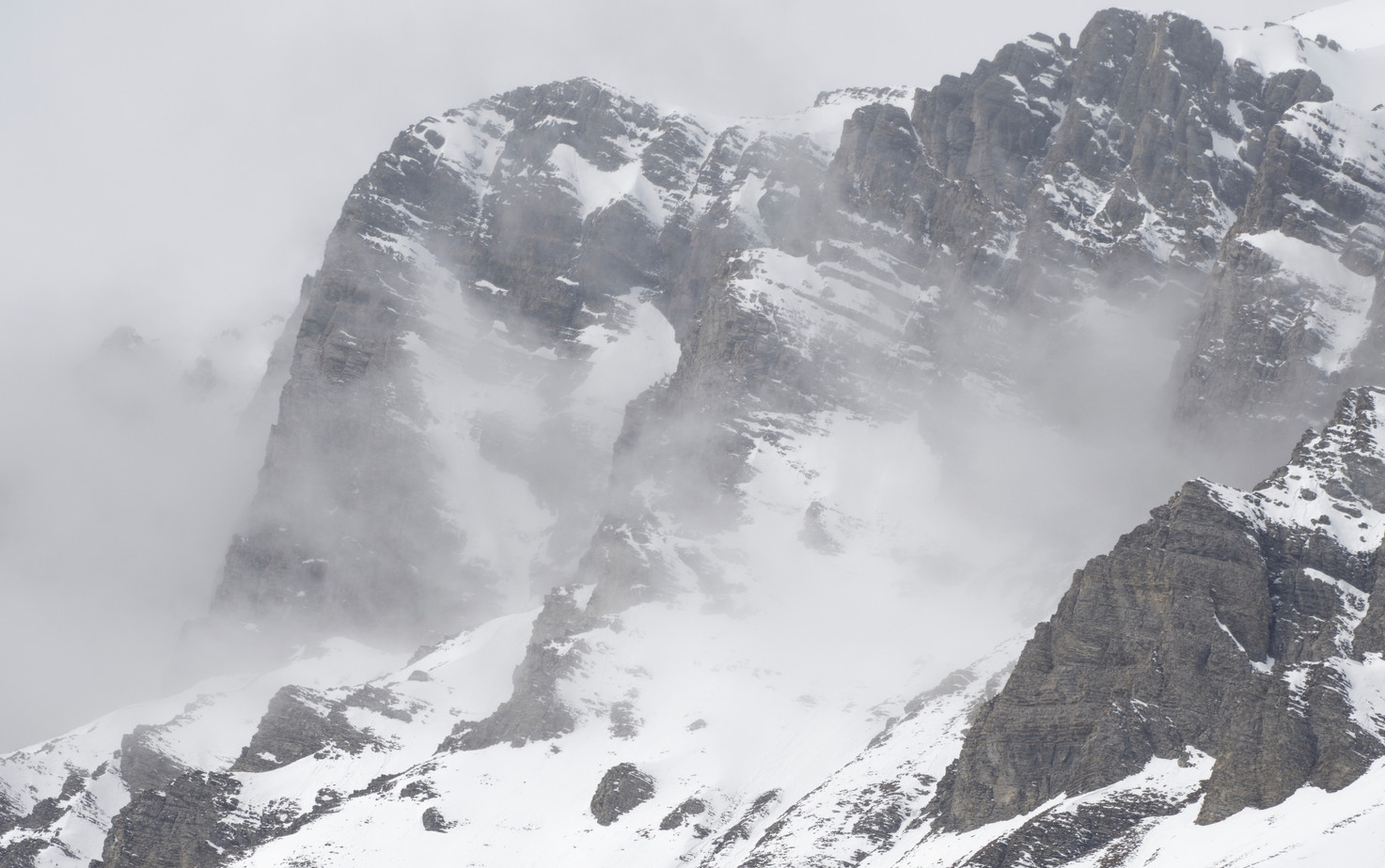 Brumes montagnes