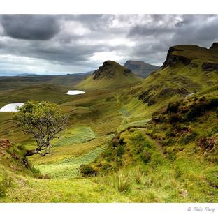 Ecosse. Ile de Skye. Les Quiraing