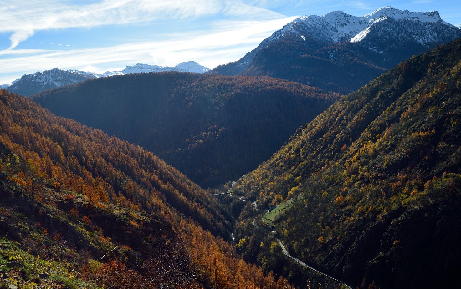 Vallée haute Tinée