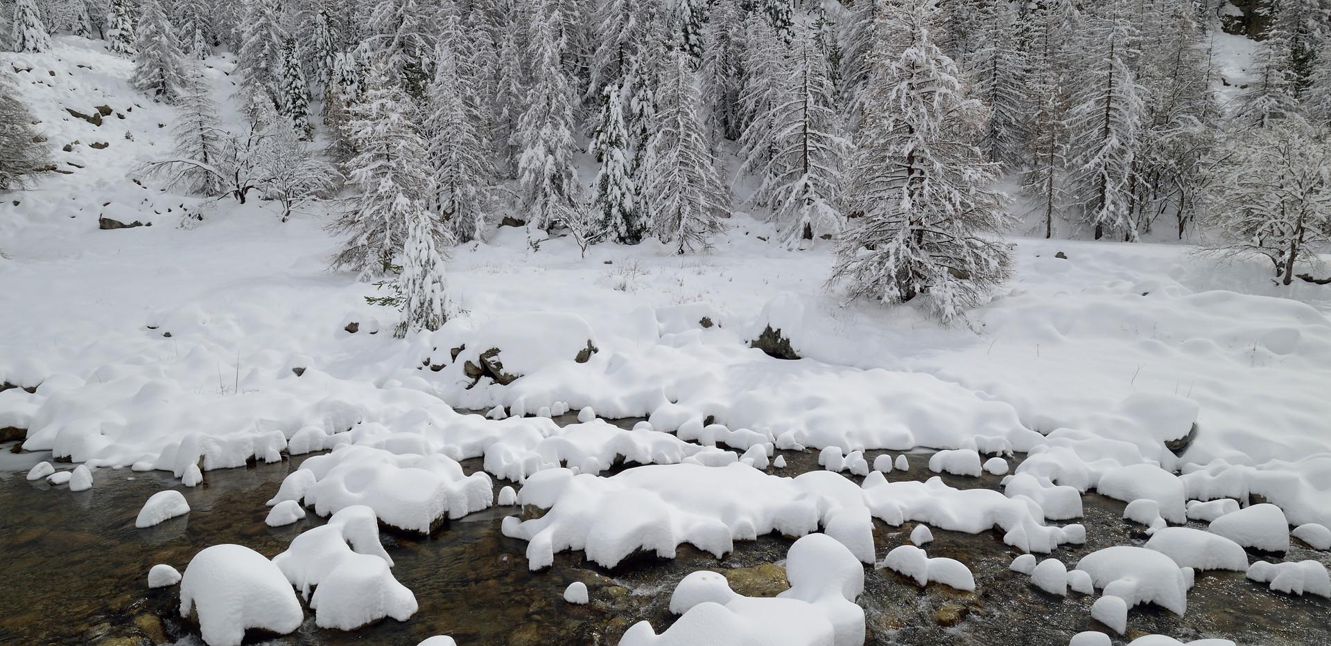 torrent en hiver