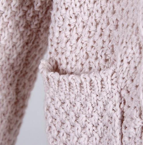 Knitted Cardigan Long Sweater