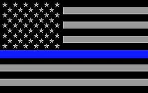 Thin Blue Line Flag