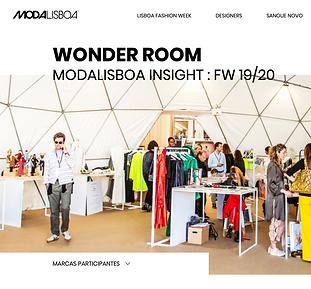 Moda Lisboa - Wonder Room - Noogmi