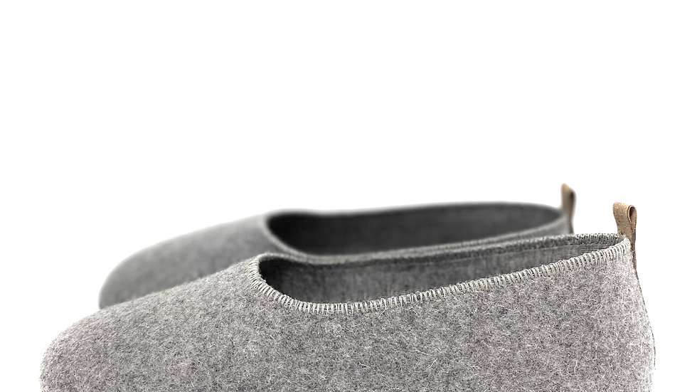 Minimal Burel Shoes | Middle Grey