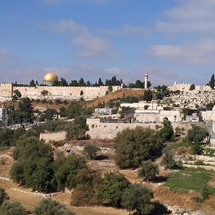 עליה לרגל לירושלים והכותל המערבי ערב פסח שני