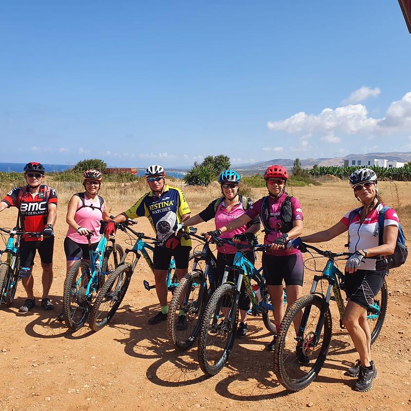 חופשת אופניים בפאפוס קפריסין  עם רן גנור