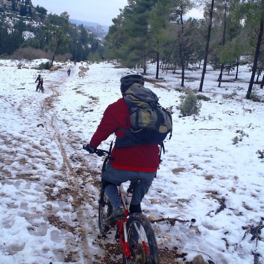 טיול שלג בירושלים