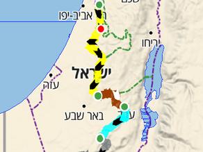 חוצה ישראל באופניים 2020-2021