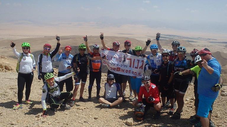 חוצה ישראל באופניים יהל לאילת