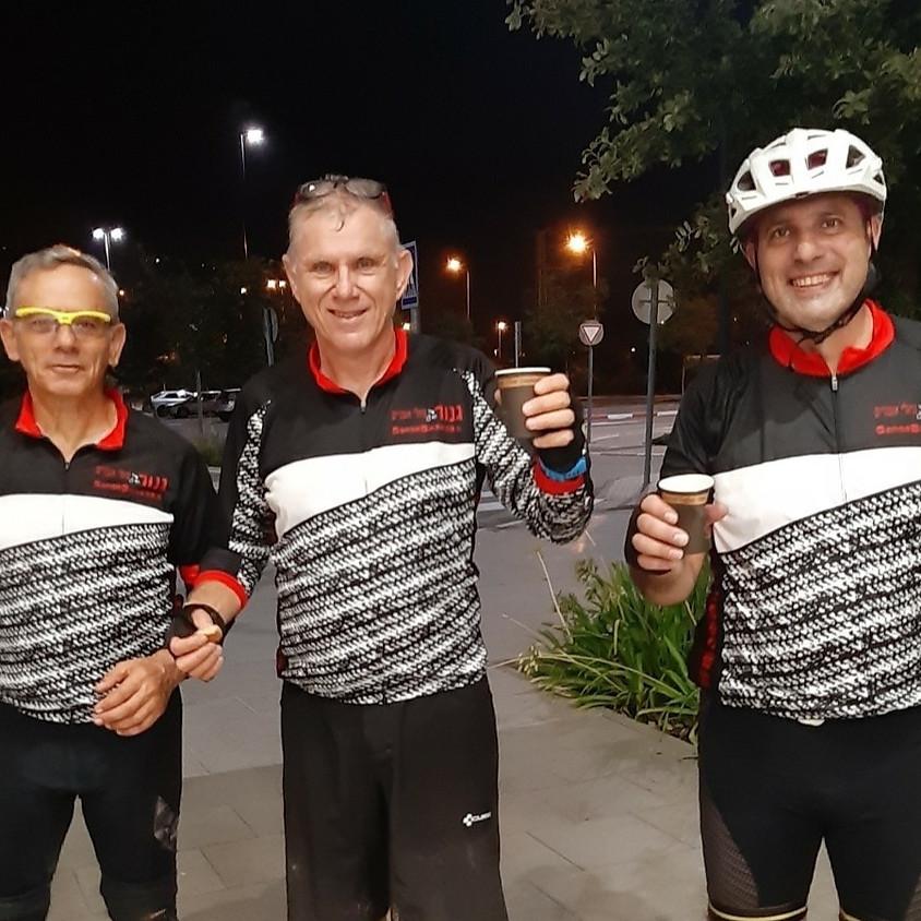 רוכבי גנור בעקבות רכבת העמק #5 לילה