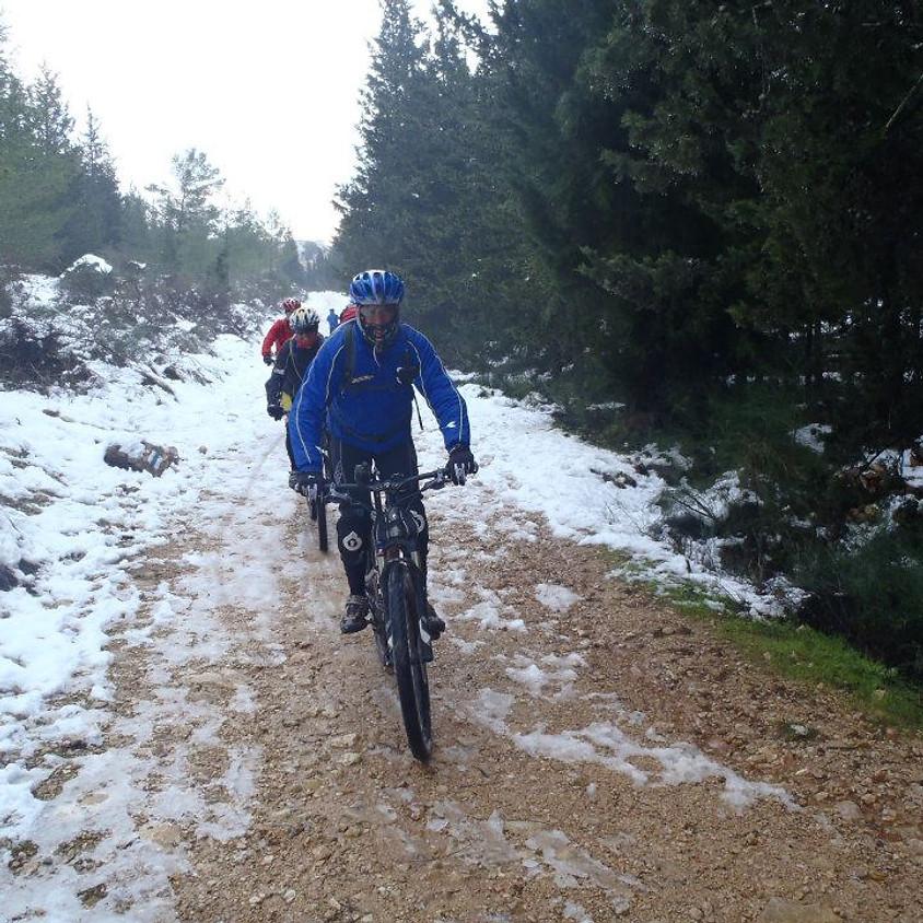 טיול שלג בגוש עציון