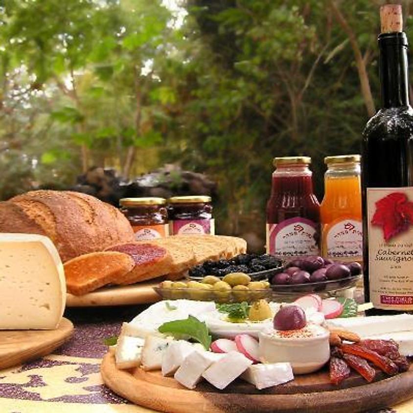 """ט""""ו באב רוכבים בפרדסים בחבל מודיעין וחוגגים בחגיגת גבינות, מאפים ויין"""