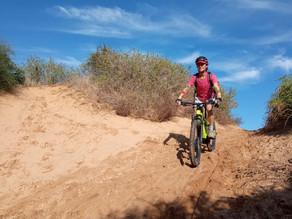 טיול באופניים חשמליים / רגילים   במצוקי הכורכר בין יקום געש ארסוף והרצליה