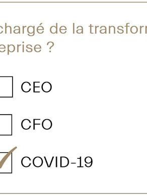 Utilisateurs, Bailleurs, il est grand temps de désigner un Chief Covid Officer !