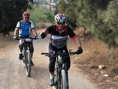 רוכבי גנור בין כוכב יאיר - צור נתן - סלעית למצפה הדר גולדין