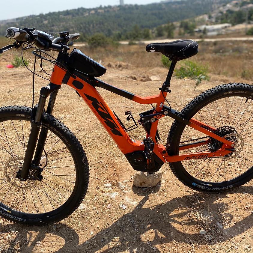 אימונים, טיולים והשכרת אופניים רגילים וחשמליים -  7 ימים בשבוע